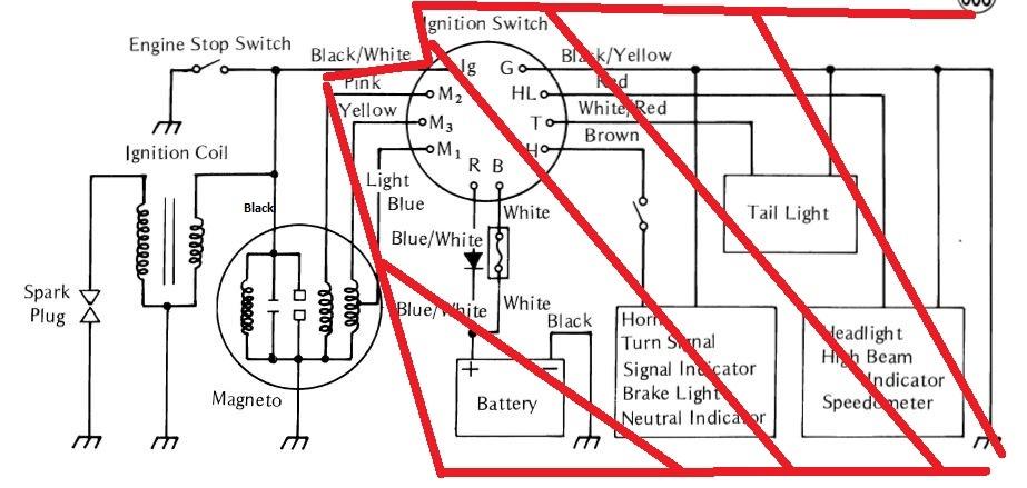 [ZSVE_7041]  1976 km 100 Manual | Kawasaki Motorcycle Forums | Key Switch Wiring Diagram For 653 |  | Kawasaki Motorcycle Forums