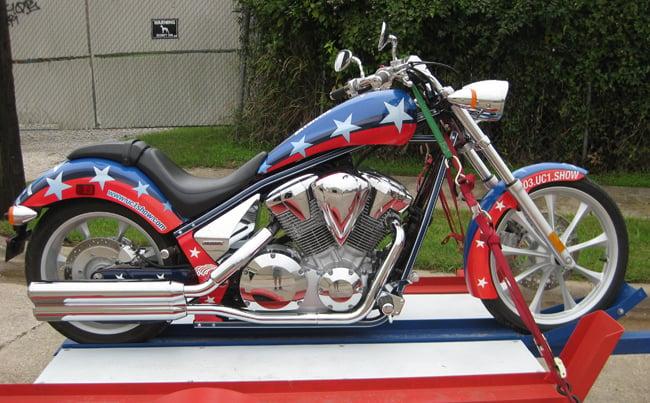 Fury Kawasaki Motorcycle